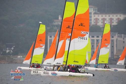 中国家庭帆船赛九江站结束