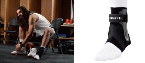 与美国职业篮球运动员斯蒂文·亚当斯签订赞助合同