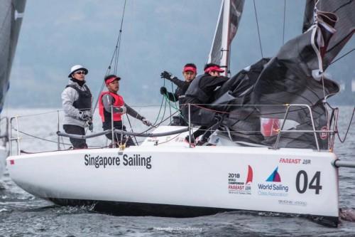 2018国际珐伊28R帆船世界锦标赛盛大开幕