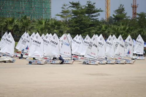 """""""梅沙教育杯""""全国青少年帆船俱乐部联赛总决赛开赛"""