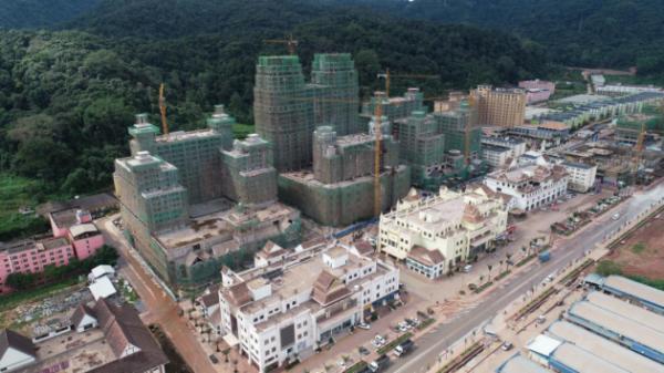 """""""一廊双核四组团"""" 中国企业大手笔着力中老边境新城开发"""