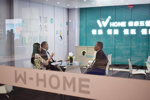 W-HOME强势亮相重庆建博会,用科技引领人居全面升级