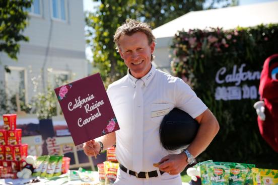 美国加州葡萄干为2018国际马联马术世界杯 带来加州阳光的味道