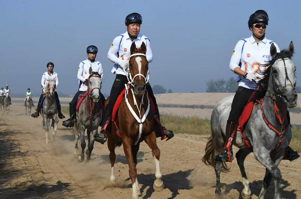 2018中国砀山秋季国际马术耐力赛落幕
