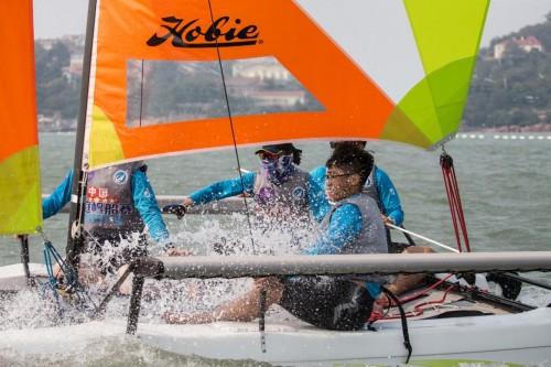 2018中国家庭帆船赛青岛站国庆欢乐起航