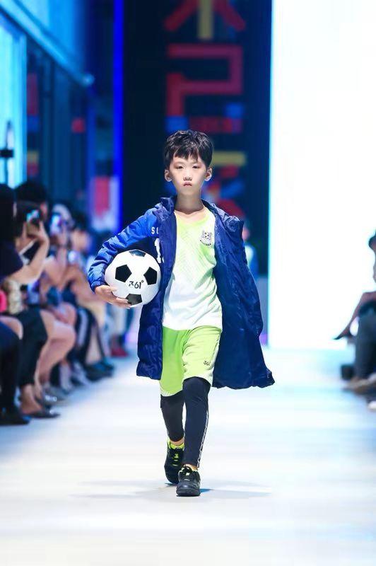 361°童装精彩亮相2018中国国际儿童时尚周,用态度诠释多元运动风