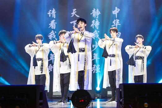 TYT台风少年团出道首唱,腾讯音乐娱乐带来视听盛宴