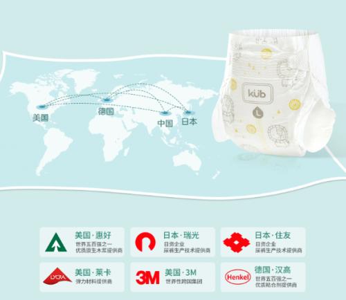 更适合中国宝宝的纸尿裤——kub可优比丝薄纸尿裤