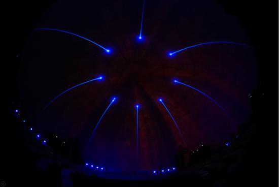 华为畅享360度穹顶投影发布会,令人窒息的沉浸式视听体验