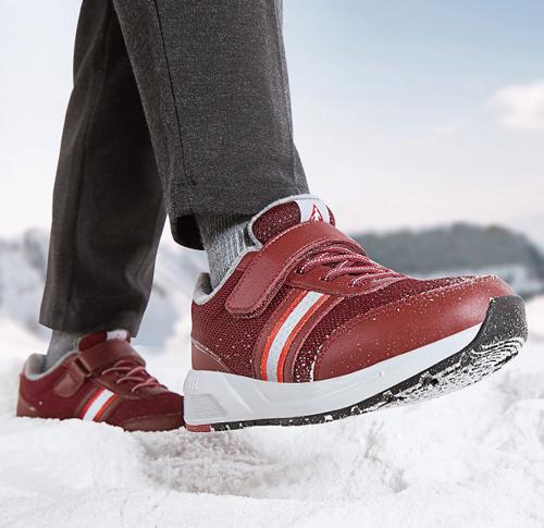 关爱老年人 温暖一冬天 足力健老人鞋新品上市