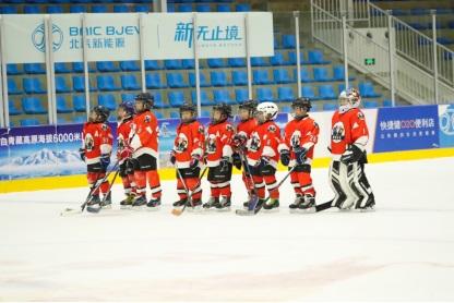 北汽新能源免费青少年冰球体验课招募开启