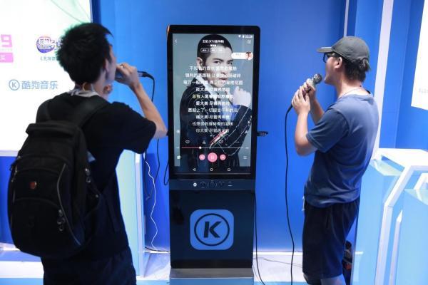考验唱功!《梦想的声音》用酷狗超级K歌机唱响惊曲榜