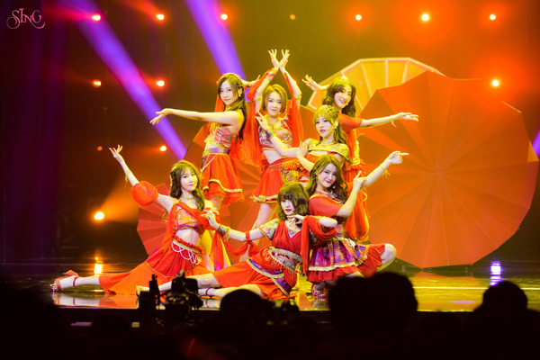 SING女团空降《由你音乐榜》 全新单曲《千年》首秀来袭