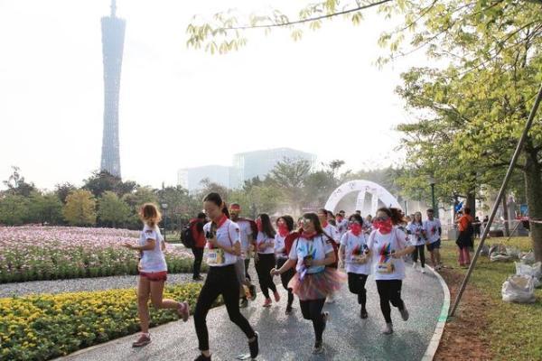 The Color Run广州(越秀)站完美收官,彩粉儿欢聚共圆漫威梦!