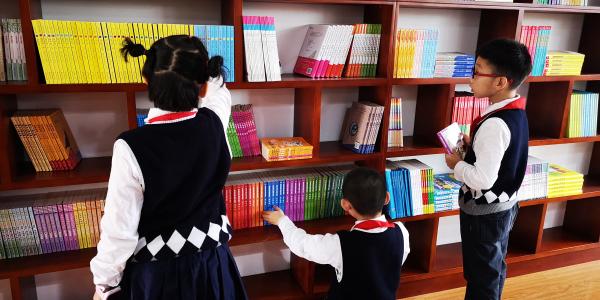 书香满溢新书院-记杭州松下图书教室落成
