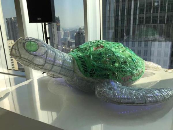 """""""自然而然""""的环保艺术 凯华国际中心2018绿色创意环保展开幕"""