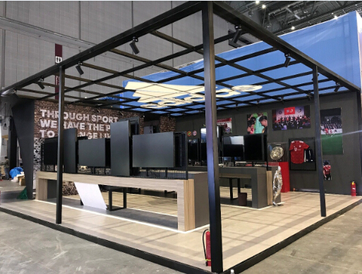 德马吉国际:创新展台设计与搭建为中国国际进口博览会保驾护航