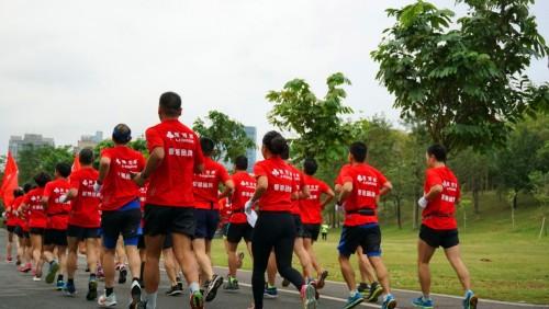 倡导健康生活,雅芳婷家纺助力马拉松全民奔跑