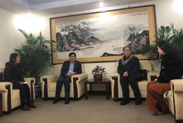 《2018中国文化旅游产业蓝皮书》课题组专访活动在京进行
