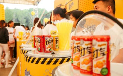 """统一""""打气"""":二次元文化与饮品界的碰撞"""