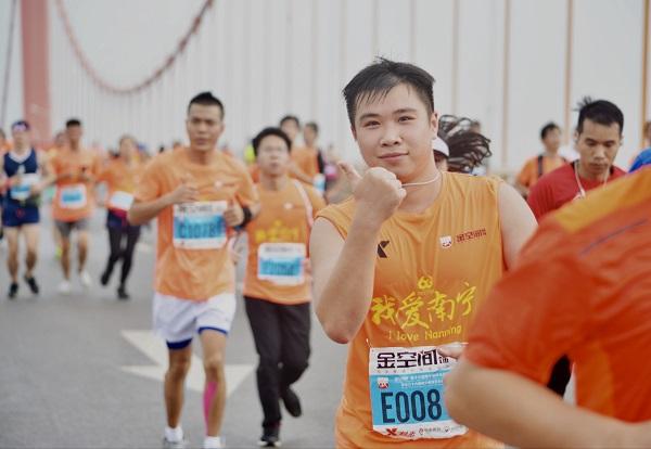 半城绿树半城楼,满城活力在南宁,特步助力2018南宁国际马拉松