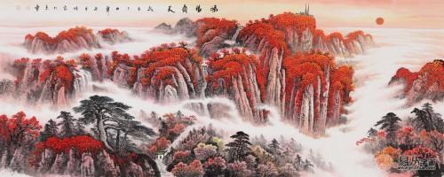 国画山水画家李林宏作品欣赏 精致典雅动人心神