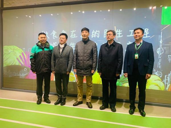 """上海市市场监管局调研叮咚买菜 """"四个创新""""推进生鲜电商新业态"""