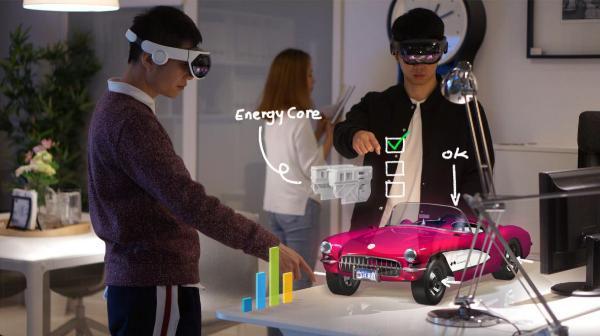 影创科技携手职业院校,助力职教汽车类专业混合现实技术信息化教学应用