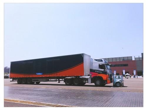 环宇智行网联自动驾驶卡车上路了!