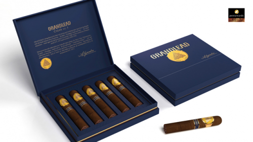 君力雪茄包装设计包装/设计师:潘虎