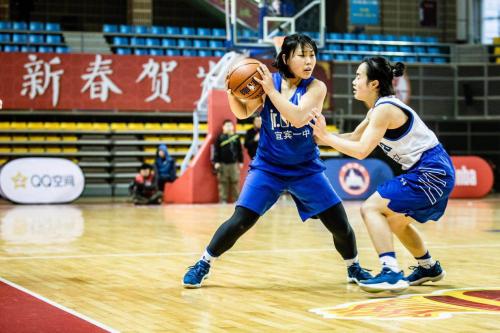 打球过年 Jr. NBA校园篮球联赛四川站高中组决赛 西昌二中与宜宾一中分获男女组冠军