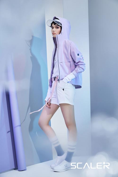 「女紫力」爆棚,思凯乐SCALER+城市机能系列19春夏女装新品发布