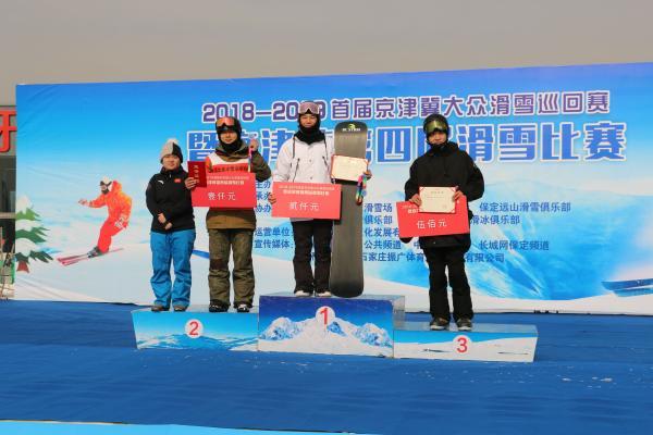 2018-2019首届京津冀大众滑雪巡回赛暨京津冀第四届滑雪比赛顺利完赛