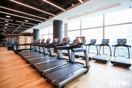 【七天腹仇竞赛】Pure Fitness引领黑科技健身热潮
