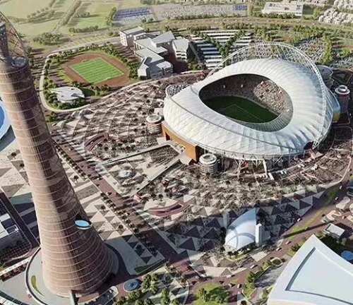为什么卡塔尔的足球这么强?因为人家建馆的速度比你进球的速度快