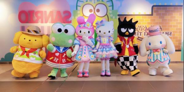 轰动魔都,世茂Hello Kitty主题馆即将正式开业!