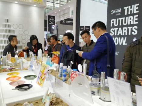 RE:CIPE水晶防晒喷雾亮相中国(广州)国际美博会