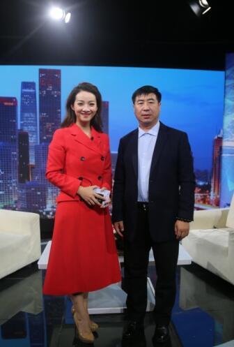 """""""智胜文化""""创始人张晓民做客《信用中国》"""