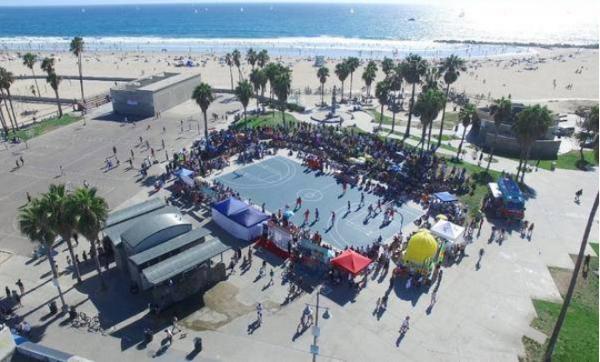 森耐特SandKnit联手洛杉矶VBL共度全明星周末