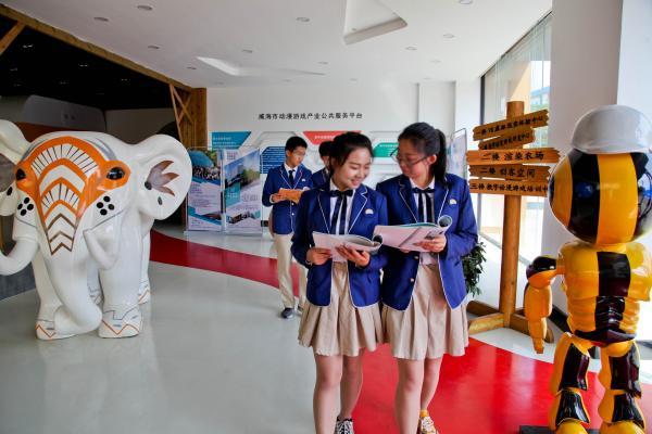 传承传统文化—光远技校剪纸活动