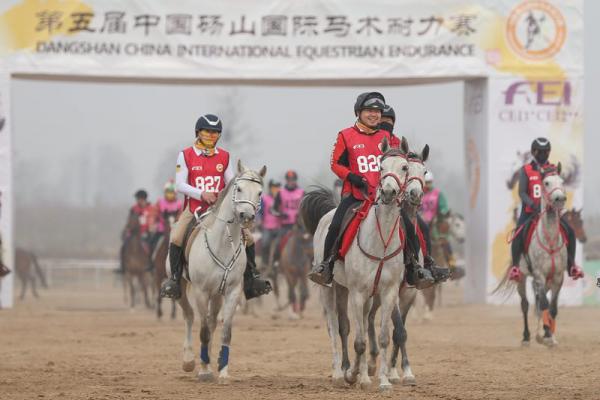 中国选手摘得第五届中国砀山国际马术耐力赛二星级比赛桂冠