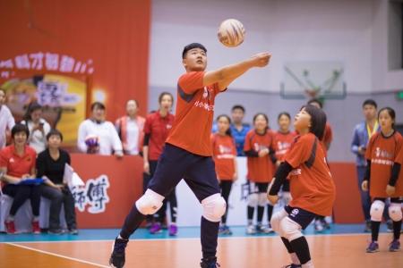 青少年家长:为康师傅小小排球训练营点赞 下次我们还想参加