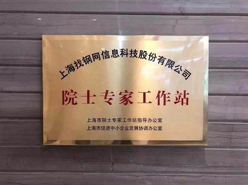 找钢网院士专家工作站建设通过中国科协认证