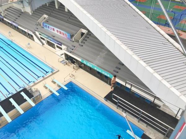高台跳水世界杯来袭中国-落地广东肇庆