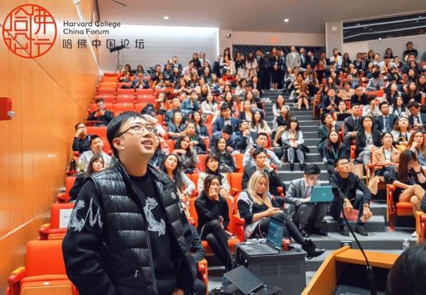 欢娱影视创始人于正现身哈佛中国论坛 探讨影视作品的文化使命