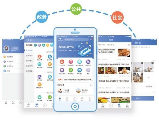 南威软件城市通2.0平台将参展第二届数字中国建设峰会
