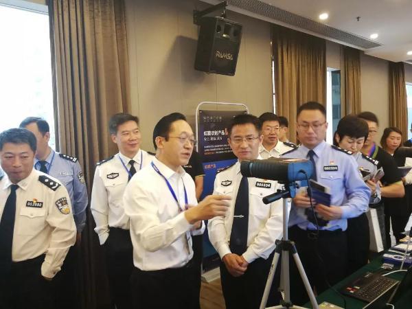 智能强警!眼神科技受邀参加全国刑事技术新技术新装备推广会!