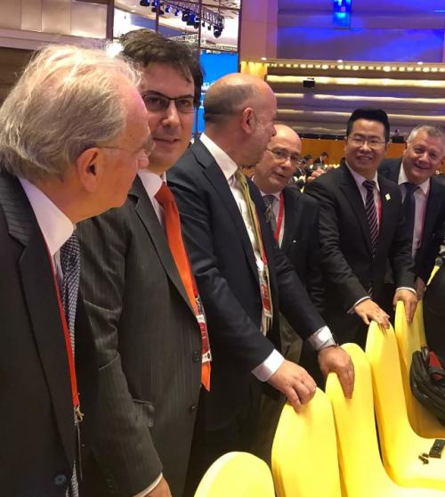 燕谷坊集团董事长兼CEO何均国出席博鳌亚洲论坛2019年年会