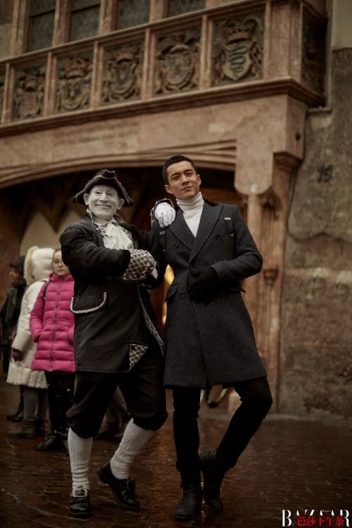 中欧旅游年欧盟旅游推广大使韩东君芬兰奥地利时尚旅行大片尽显风度