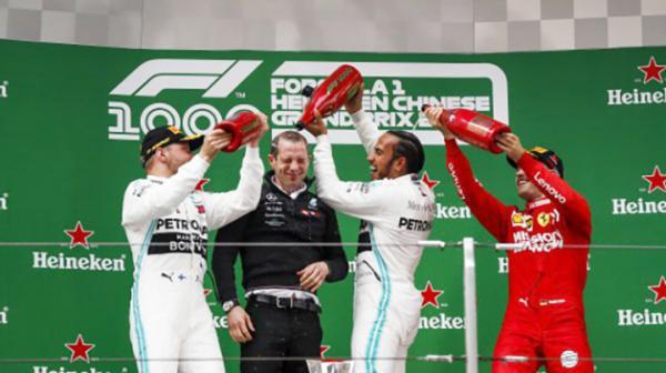 F1那一场风花月雪的事,千站到上海谁是大赢家?